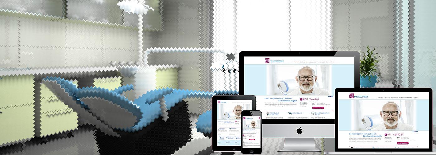 Responsives Praxis-Webdesign