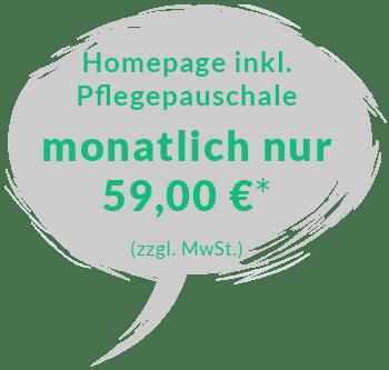 Homepage mieten für 59 Euro*